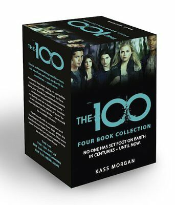 Kass Morgan The 100 Series 4 Books Collection Set Pack BOX SET Rebellion NEW