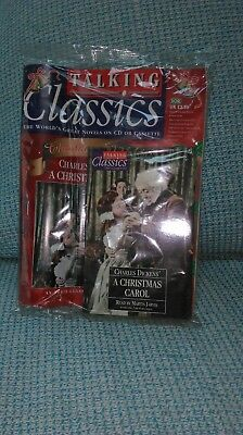 New A CHRISTMAS CAROL BY CHARLES DICKENS ON 2 AUDIO CASSETTES -TALKING CLASSICS