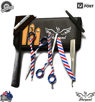 """Professional Barber Hairdressing Scissors And Thinning 6.0"""" In Japanese Steel"""