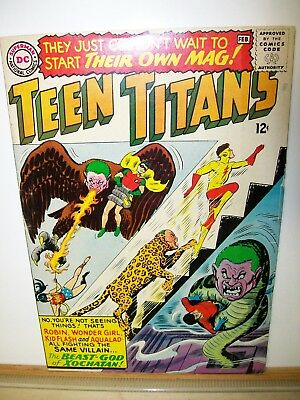 Teen Titans # 1-43    (43 Books)      Old Silver Age Comics   Over $ 900 Value