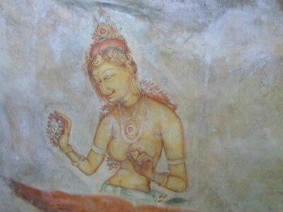 Digital Photo Wallpaper Desktop Screen Saver Image - Sigiriya Rock Frescoes #02
