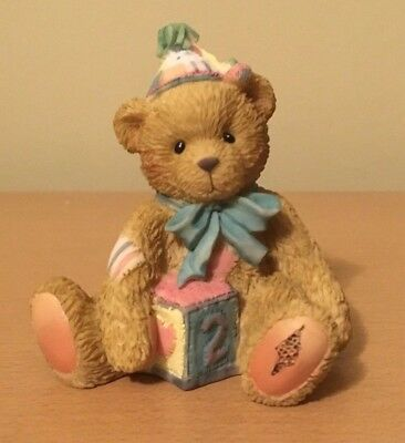 Cherished Teddies # 911321 Two Sweet Two Bear New in Box 1998