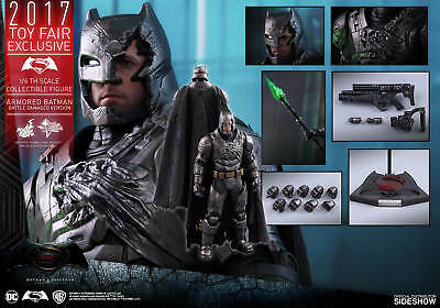 Armored Batman Battle Damaged Version Sixth Scale Figure by Hot Toys
