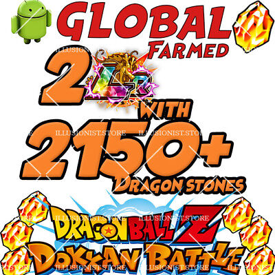 🌟Special Sale 🌟 Android - Dokkan Battle 2 LR 2500+ Dragon Stones - GLOBAL 🌟