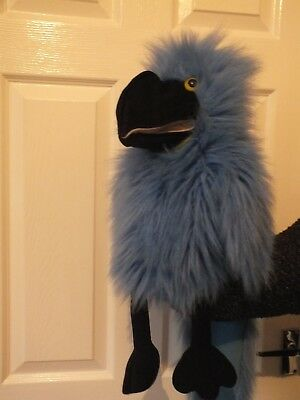 Puppet Blue Parrot by the Puppet Company