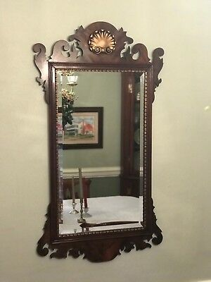 Henkel Harris Chippendale Mahogany Mirror - Model H5