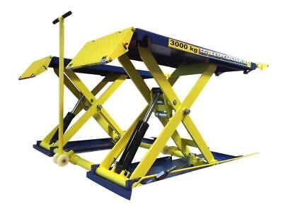 MOBILE SCISSOR CAR LIFT AUTOMATIC VEHICLE LIFT RAMP HOIST 3000Kg MID RISE PLATFO