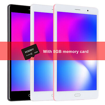 """XGODY Android 6.0 4G LTE 8"""" 16GB Tablet PC Phablet WIFI Free TF Card Type-c GPS"""