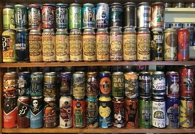 Craft beer can collection 54 different for man-cave, bar, restaurant, collection