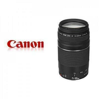 Canon EF 75-300mm f/4-5.6 III Telephoto Zoom Lens for Canon Digital SLR Cameras