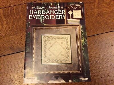 Teach Yourself Hardanger Embroidery. Revised Edition. Leisure Arts.
