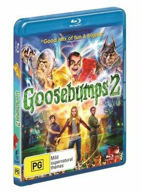 Goosebumps 2 - Haunted Halloween (Blu-ray, 2019) (Region A,B,C) New Release