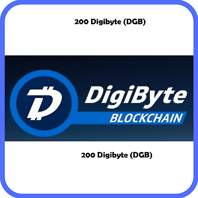 200 DigiByte (DGB) CRYPTO MINING-CONTRACT (200 DGB)
