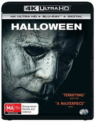 Halloween 2018 (4K Ultra HD/ Blu-Ray, 2019) (Region B) New Release