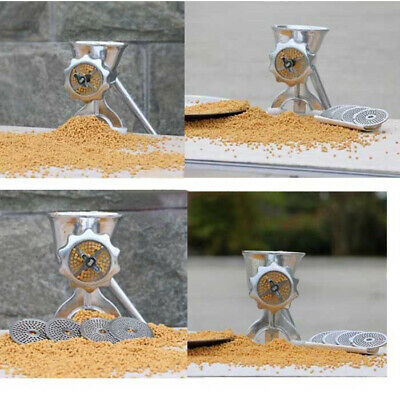 S/M Manual Birds Fishing Bait Granulator Pellet Making Machine Animal Food Maker