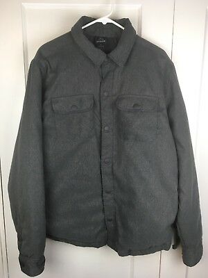 77640bede PRANA BROOKRIDGE BOMBER Jacket - Men's Coal M - $40.00 | PicClick