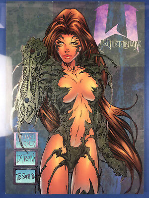 ** SET WITCHBLADE 1996 SPECIAL METAL CARDS ** In Cornice Michael Turner Top Cow