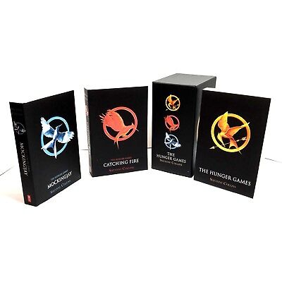 The Hunger Games Trilogy Box Set Softcover Catching Fire Mockingjay S Collins