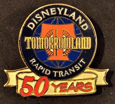 Disney Pins - DL Tomorrowland Rapid Transit 50 years - LE - VINTAGE! RARE!