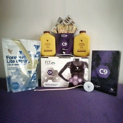 1 x C9 Forever Living Clean 9 - Vanilla NEW complete pack.