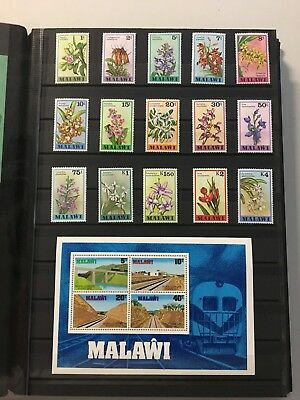 CMN10) Malawi. mint unhinged Malawi Collection 1975 -1989