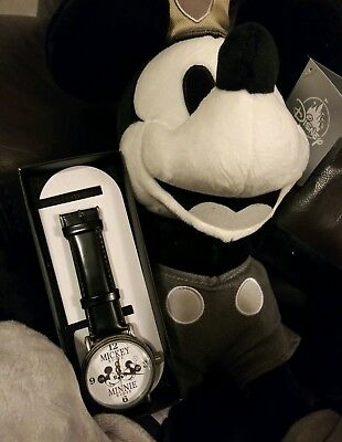 Disney Mickey Mouse 90th Anniversary Watch Minnie Mouse 1928 Valentine Gift