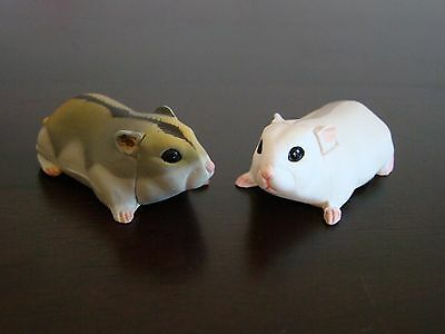 New JAPAN KAIYODO FURUTA Choco Egg Animal Pet Miniature TWO Hamsters Mouse