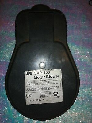 3M Gvp-100 Motor Blower Unit For Gvp-1 Papr With Gvp-110 Power Cord