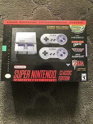Super Nintendo System Snes Classic Edition Mini Console With 530 Games Modded