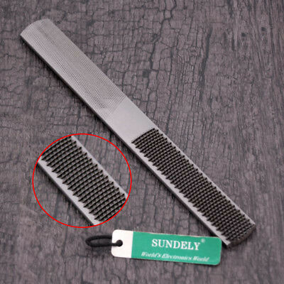 4 in 1 8 inch 200mm Carbon Steel Carpentry Woodworking Wood Rasp File Mill Tool