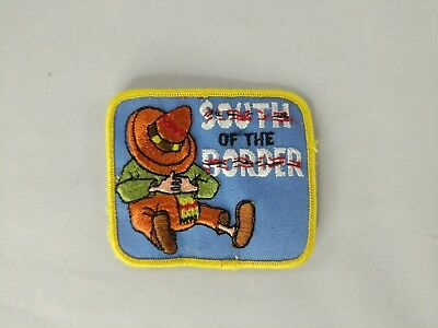 Vintage South Of The Border Embroidered Patch