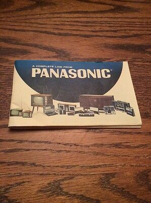 Panasonic - The Complete Line Catalog; Vintage 1960's & And Hard To Find!