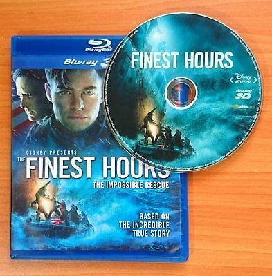 Finest Hours 3D Blu-ray Region Free Best Deal