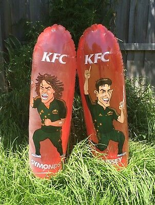 2x KFC Inflatable Fielders - Hussey & Symonds