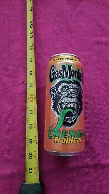 Gas Monkey Energy Tropical Drink Can Empty