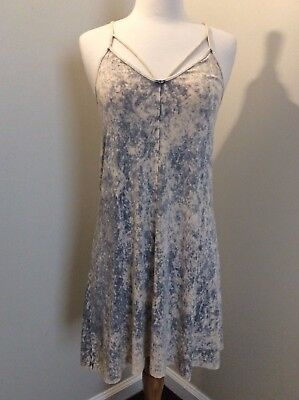 10ed425bbef8 American Eagle Outfitters AEO Two Toned Tie Dye Spaghetti Strap Dress Size M
