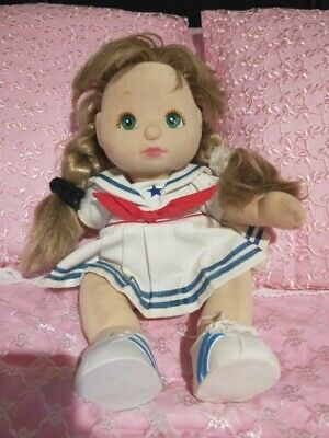 My child doll, Ultra Long Ash Blonde GREAT CONDITION