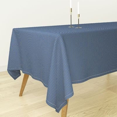 Tablecloth Ancient Egypt Stars Gold Blue Egyptian Gold Star Cotton Sateen