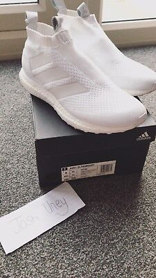 new concept 20aa7 30028 Adidas ACE 16+ Purecontrol Ultraboost - White UK Size 7.5