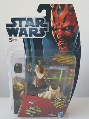 "Star Wars Movie Heroes Yoda 3.75"" figure (2012)"