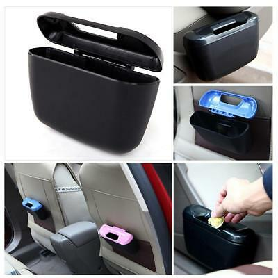 Car Trash Bins Car Compartment Multifunction Eide Bucket Dust Box Black #e