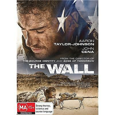 The Wall DVD 2017 MA 15 + / All DVD's $4, $6 or $8 - Over 300 Titles!