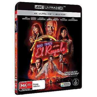 Bad Times At The El Royale (4K Ultra HD/ Blu-Ray, 2019) (Region B) New Release
