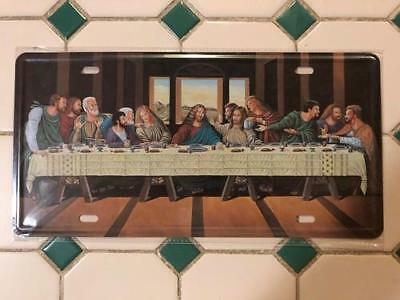 The Last Supper 13 desiples sign pressed metal decor item Free post