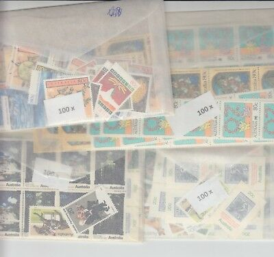 Australia postage stamps with gum face value $200  (2 stamp combo to make $1)no
