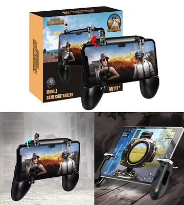 Flexible W11+ PUBG Mobile Wireless Gamepad Console Joystick for iPhone Android