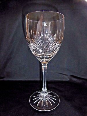 """Edinburgh Crystal Clyde Large Wine Glasses signed 7 3/8"""" high 5 available"""