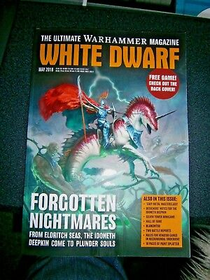 White Dwarf magazine May issue 2018 (new