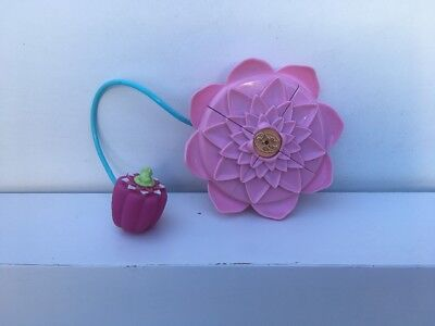 Vintage Polly Pocket Fountain Fantasy Pollys Magical Lily Pad Compact Only Vgc