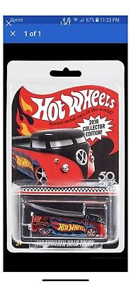 2018 Hot Wheels Kmart Mail in Volkswagen Drag Truck & Protector VW